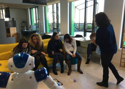 Atelier Sphéro expo robots