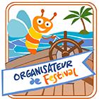 Badge organisateur de festival